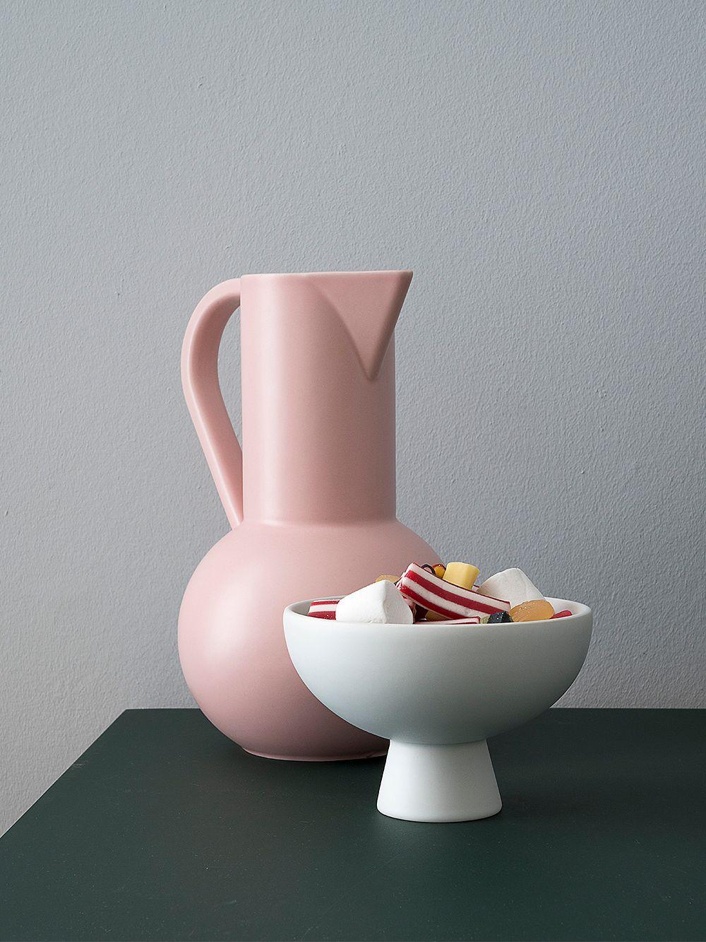 Raawii Strøm bowl, vaporous grey