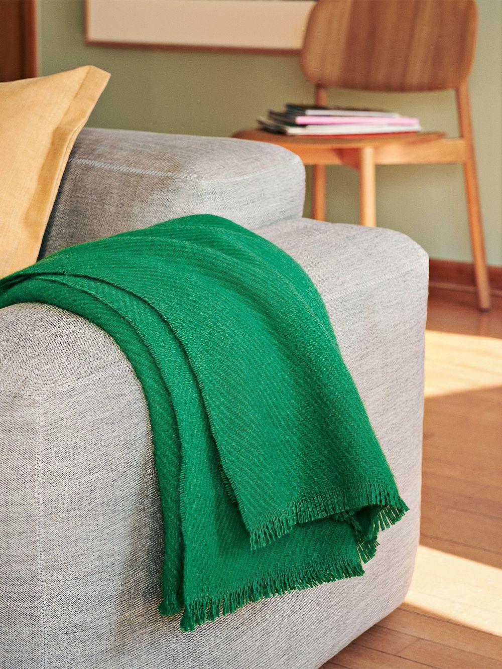 HAY Mono blanket, grass green