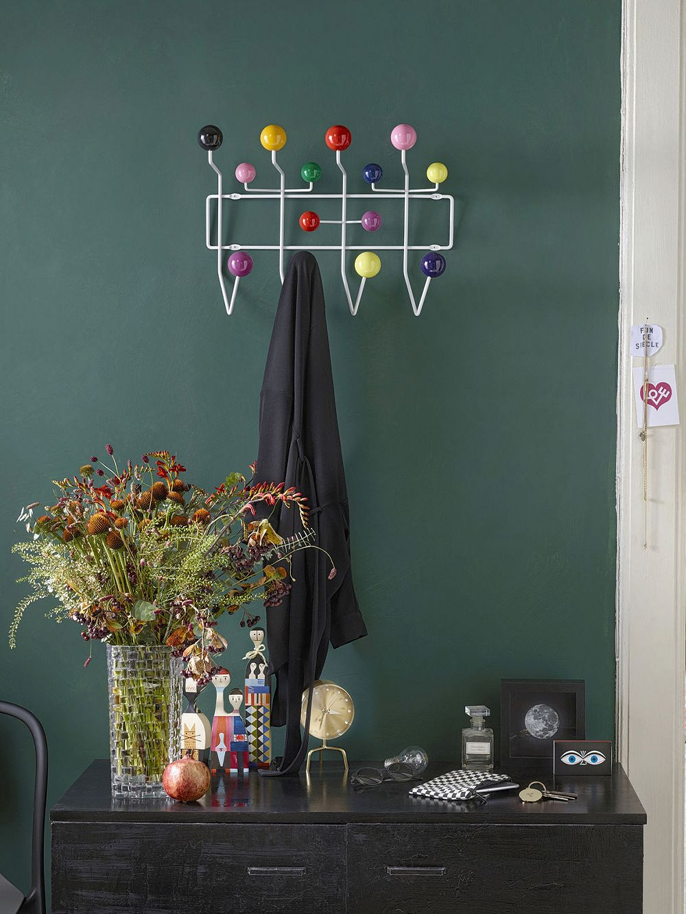 Vitra Hang it all coat rack, multicolor