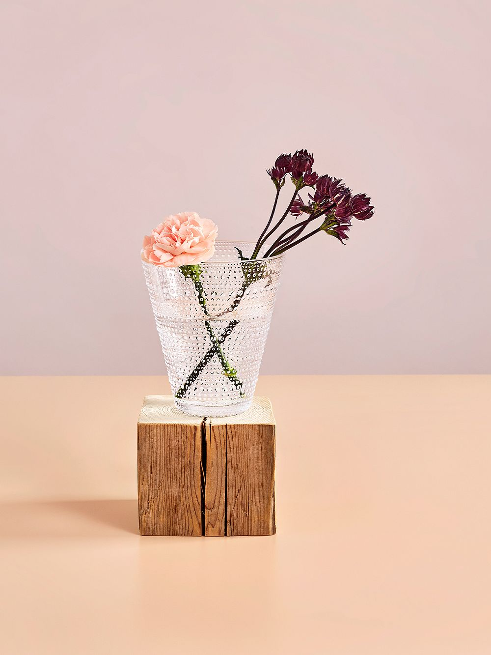 Iittala Kastehelmi vase, clear