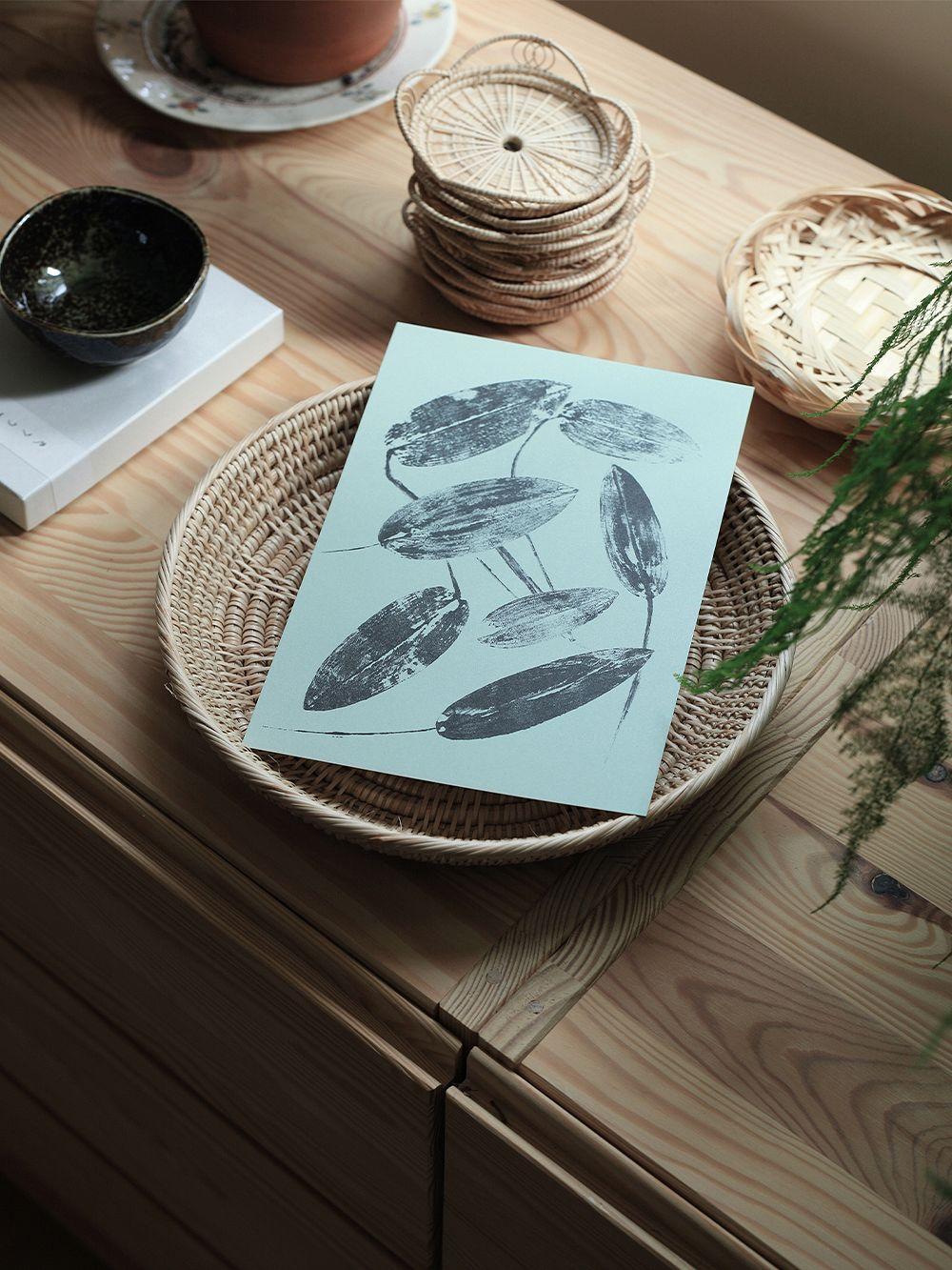 Teemu Järvi Illustrations Leaves mini poster set