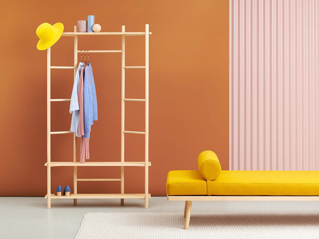 Hakola's Nap Wool daybed in kids' room decor.
