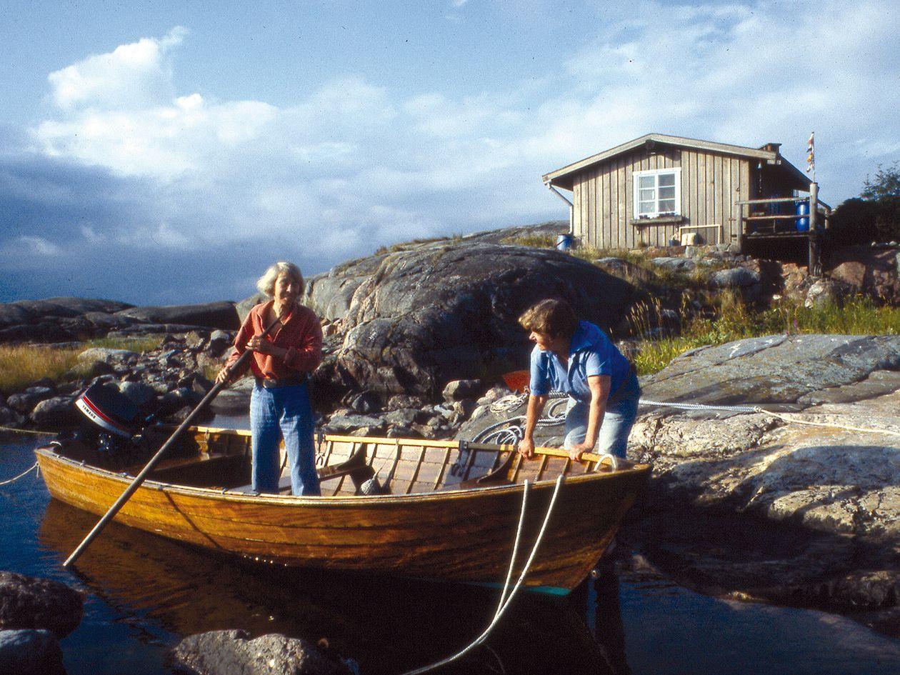 Tove Jansson Klovharu island