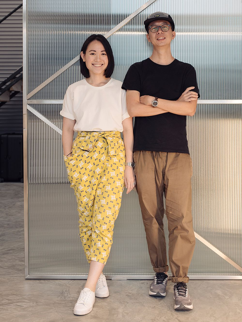 Creative directors Joy Loo and Khoo Kean Hu from the design agency WAFF