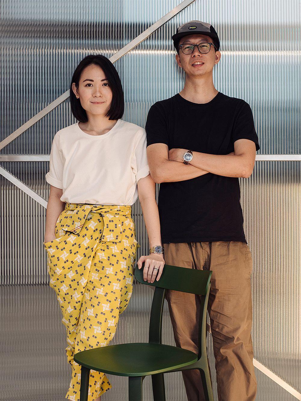Designers Joy Loo and Khoo Kean Hu
