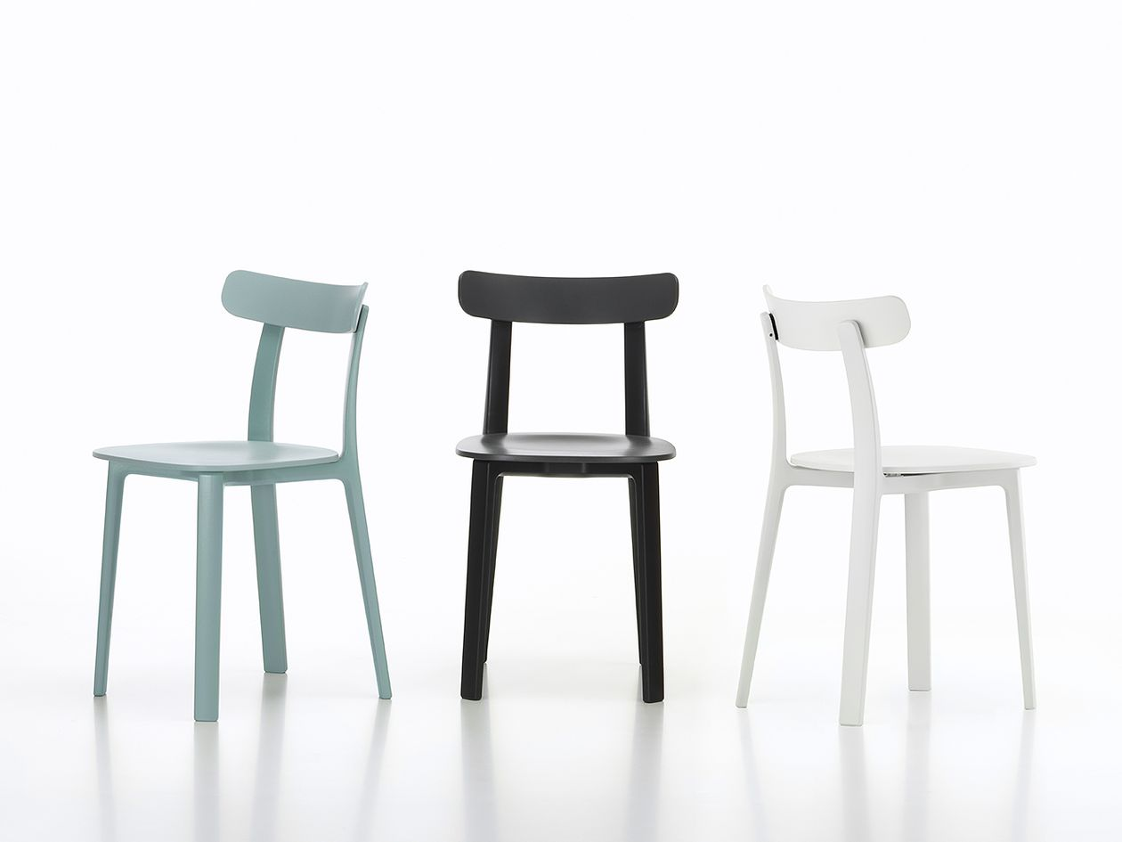 Vitra's All Plastic Chair