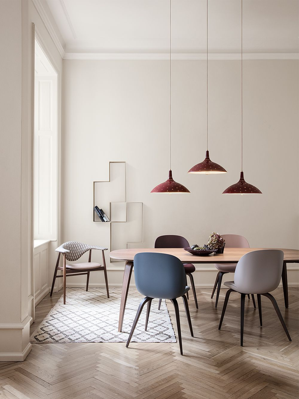 Gubi's 1965 pendant light, design by Paavo Tynell