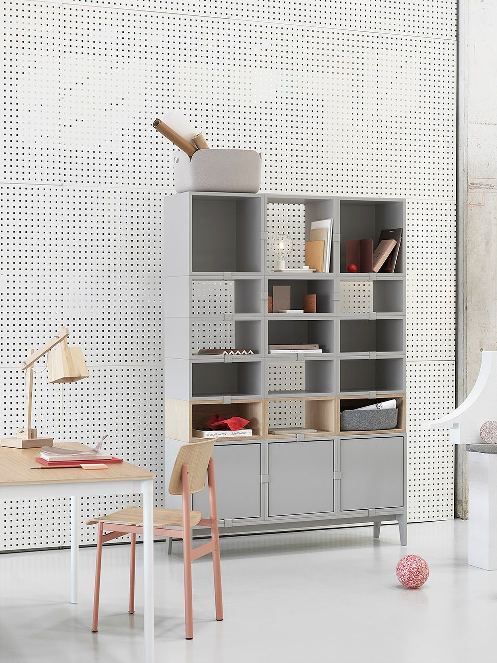 Muuto Stacked shelving collection