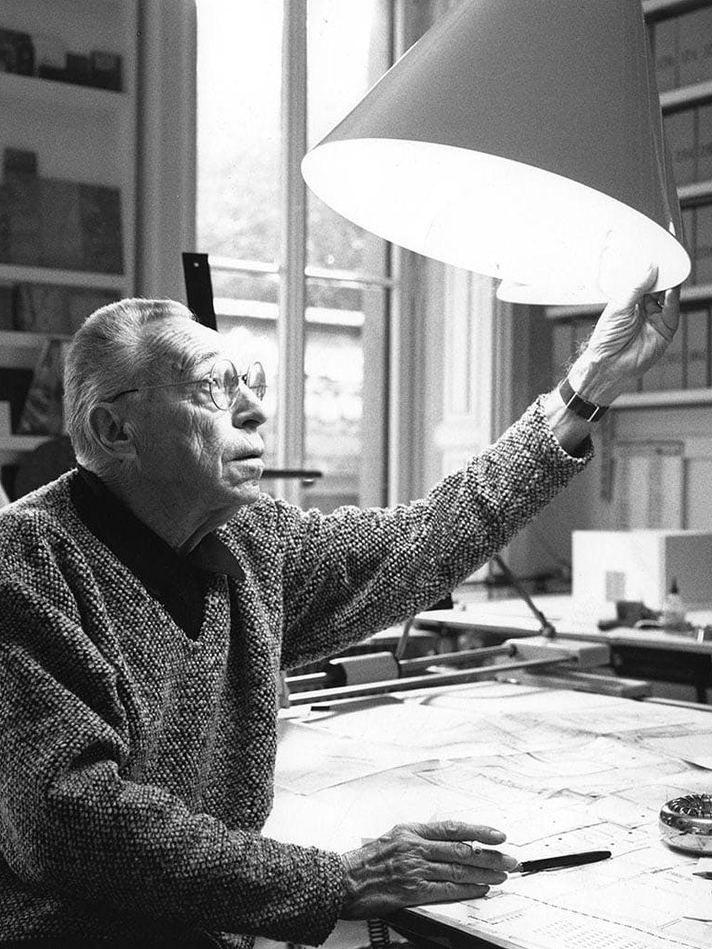 Designer Achille Castiglioni.