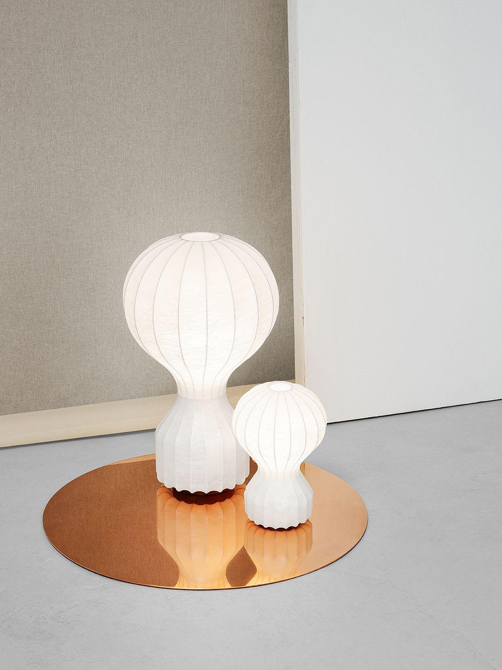 Gatto and Gatto Piccolo lamps by Flos.