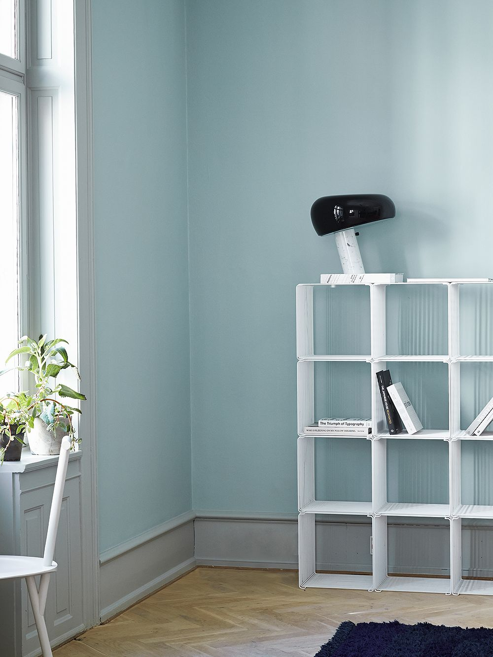 Snoopy table lamp by Flos.