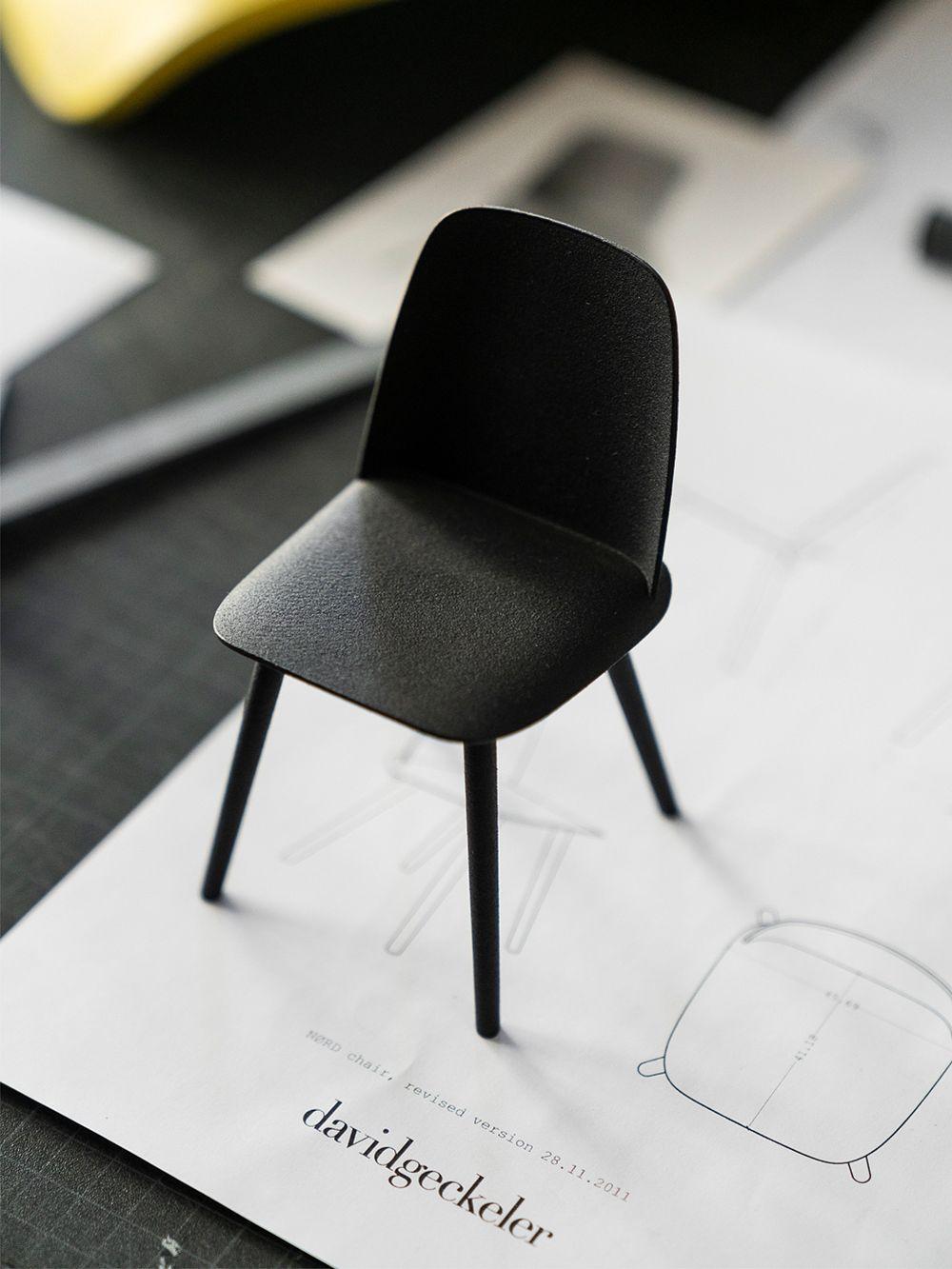 Miniatyyri Muuton Nerd-tuolista.