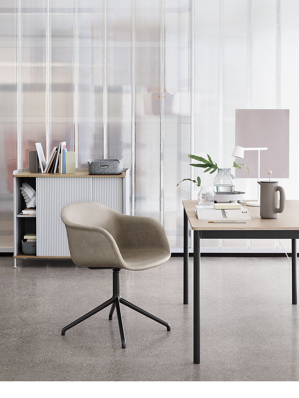 Muuto's Fiber chair.