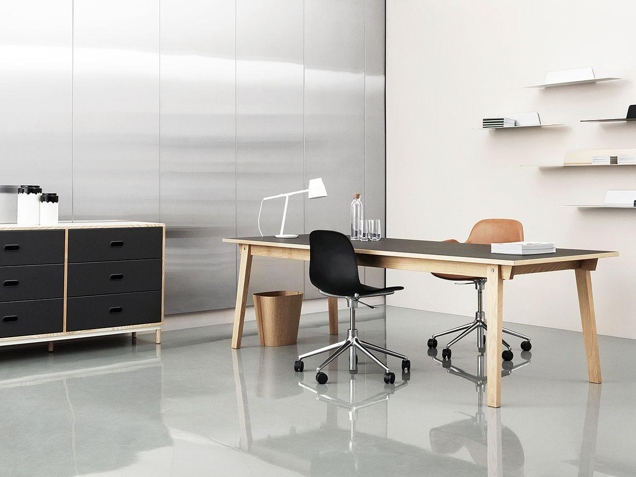 Normann Copenhagen's Form Swivel office chair.