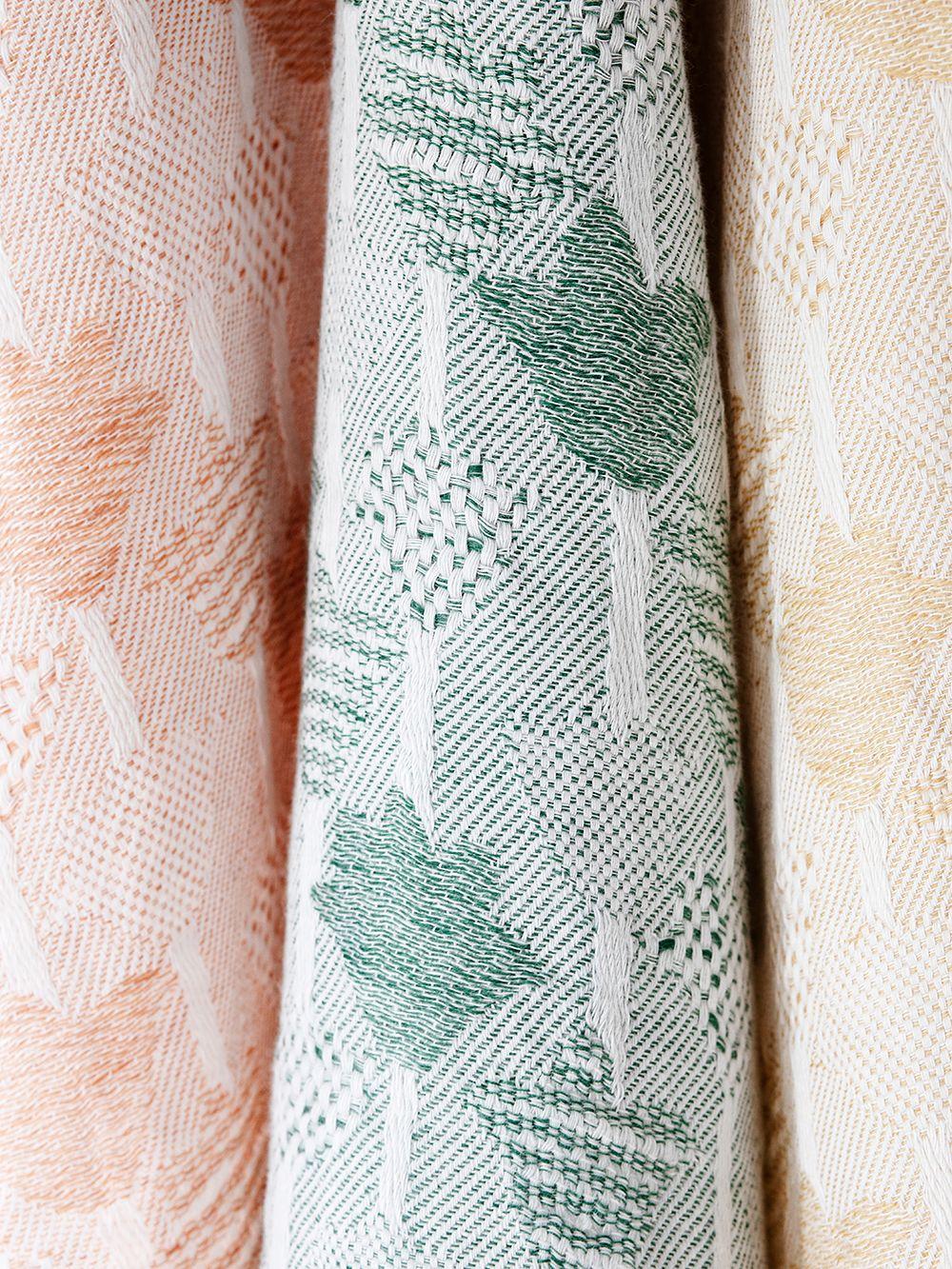 Tulppaani tea towels by Lapuan Kankurit