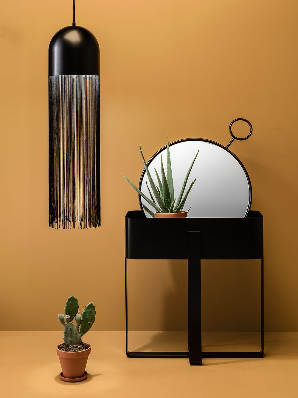 Hide lamp by Laura Väre