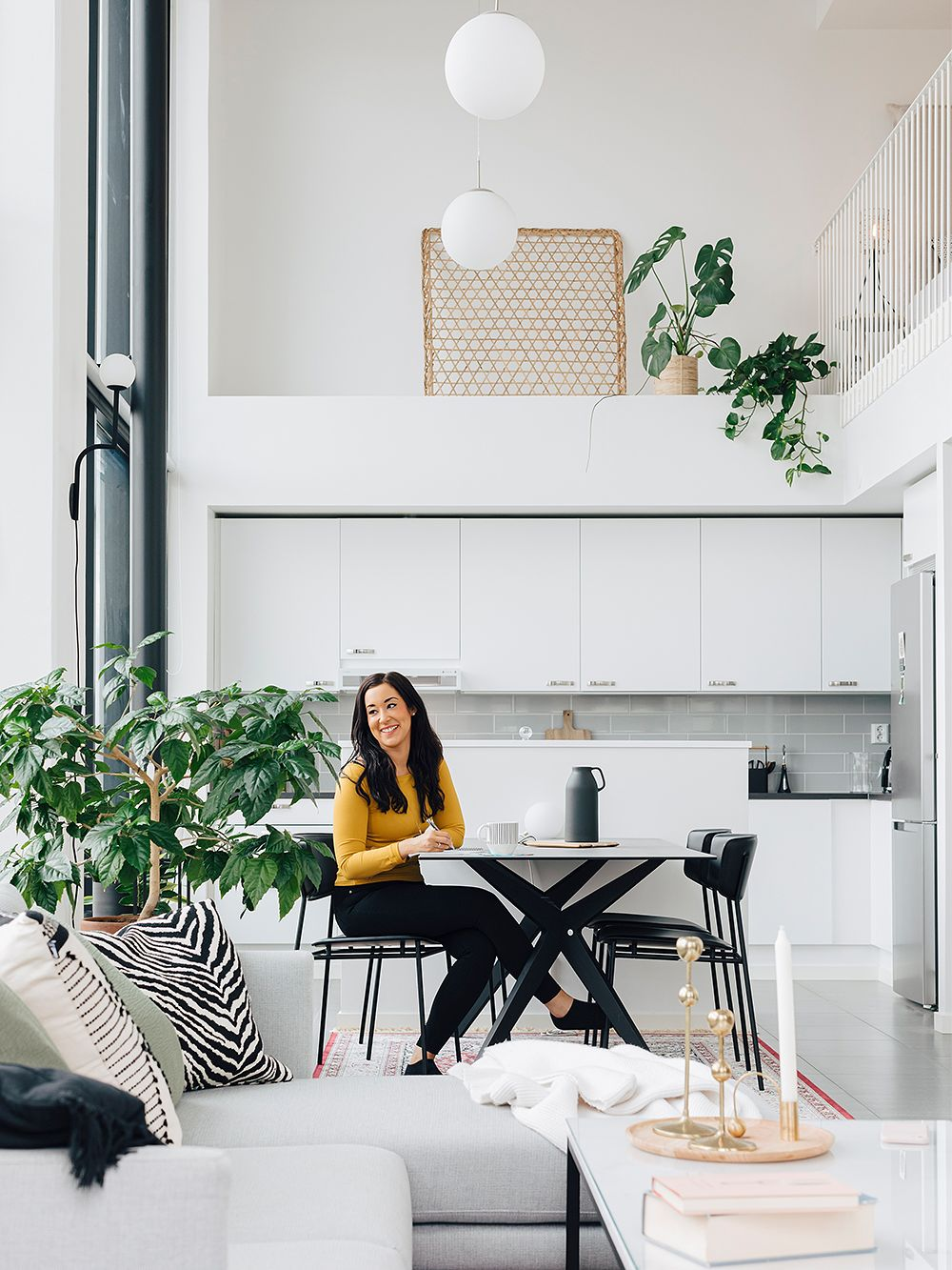 Linda S Modern Loft Apartment Combines Scandinavian Style With Oriental Patterns Design Stories,Tribal Sleeve Tattoo Designs