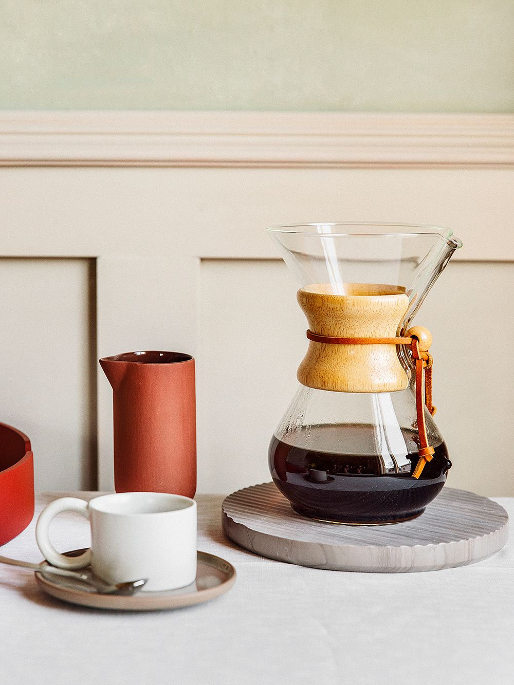 Chemex's Classic coffee maker