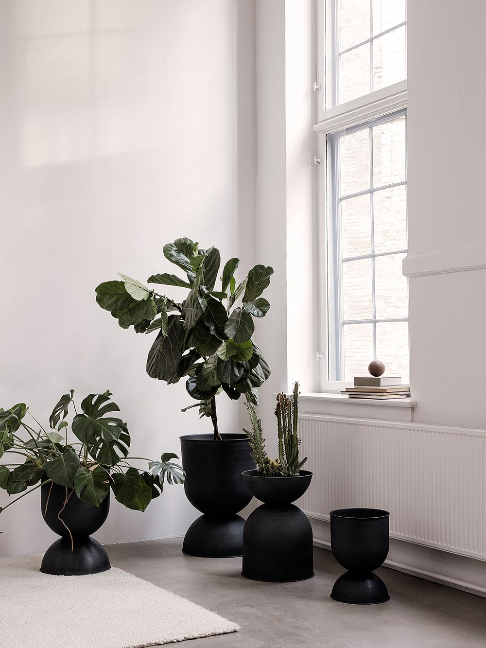 Ferm Living's Hourglass pot