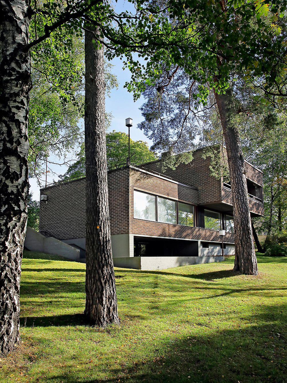 A semi-detached house in Helsinki