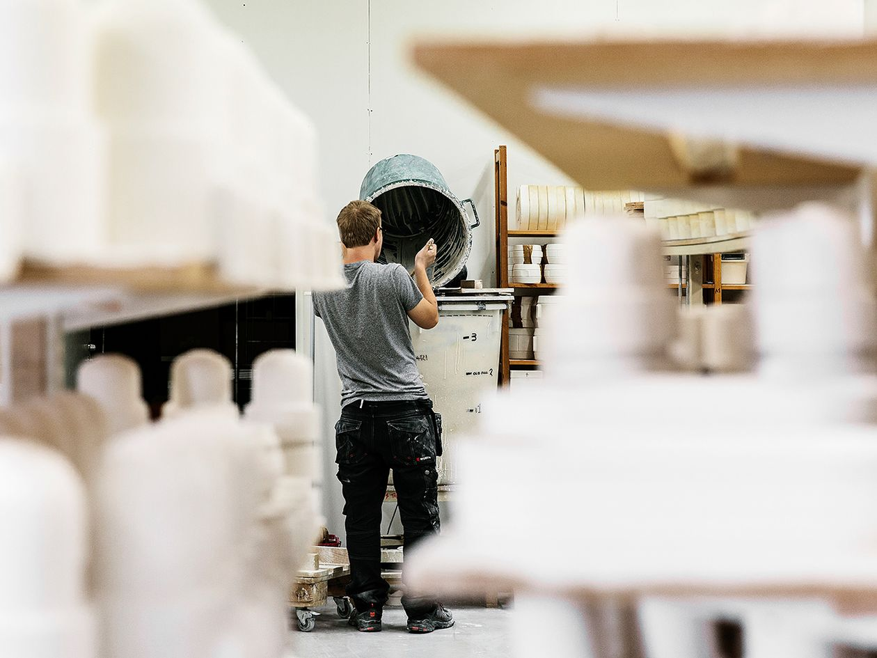 Tonfisk Design's production facilities in Turku, Finland.