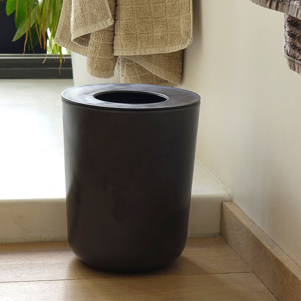 Biobu Bano waste bin in black