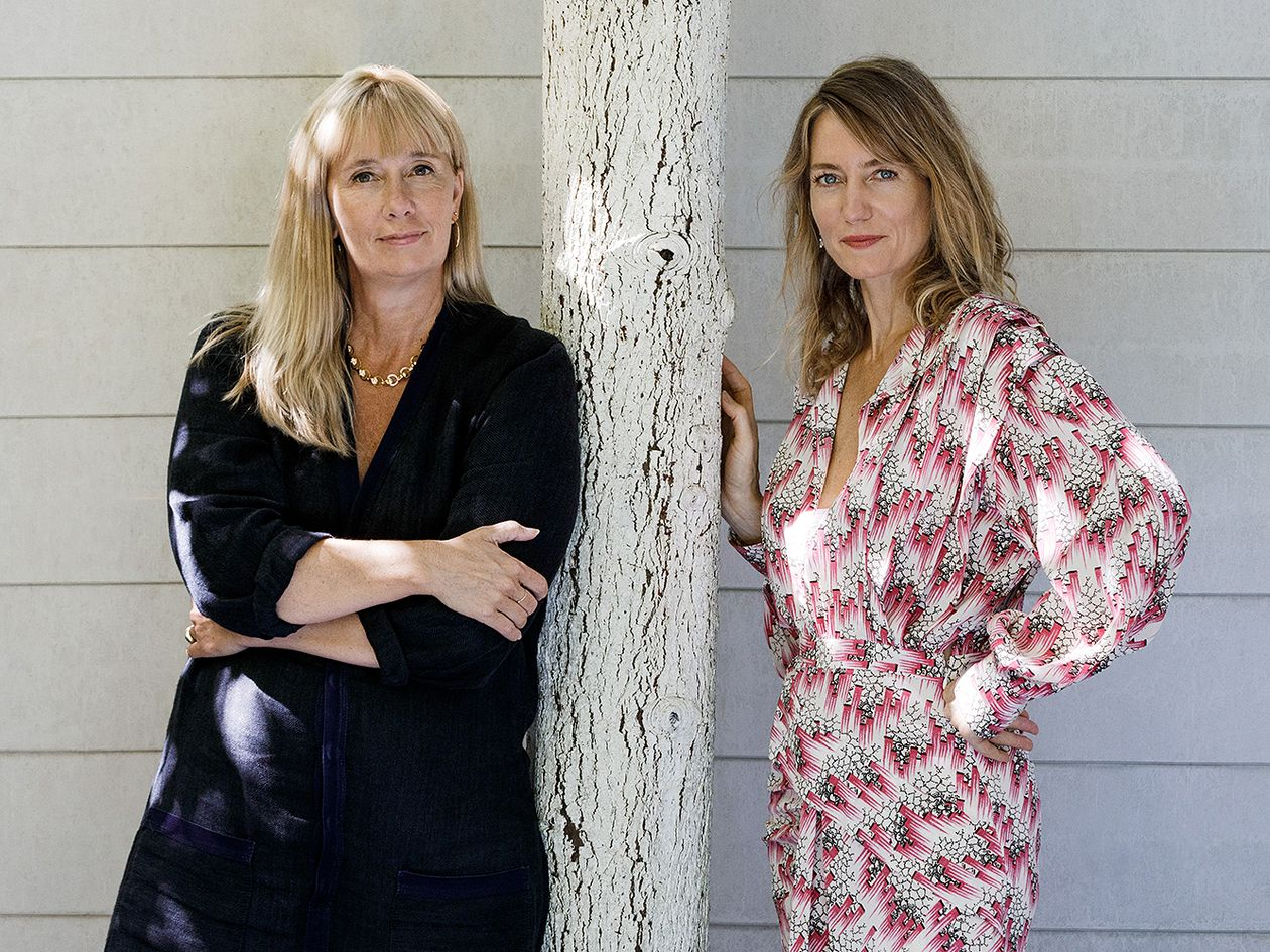 Pauline Barendregt and Carole Baijings