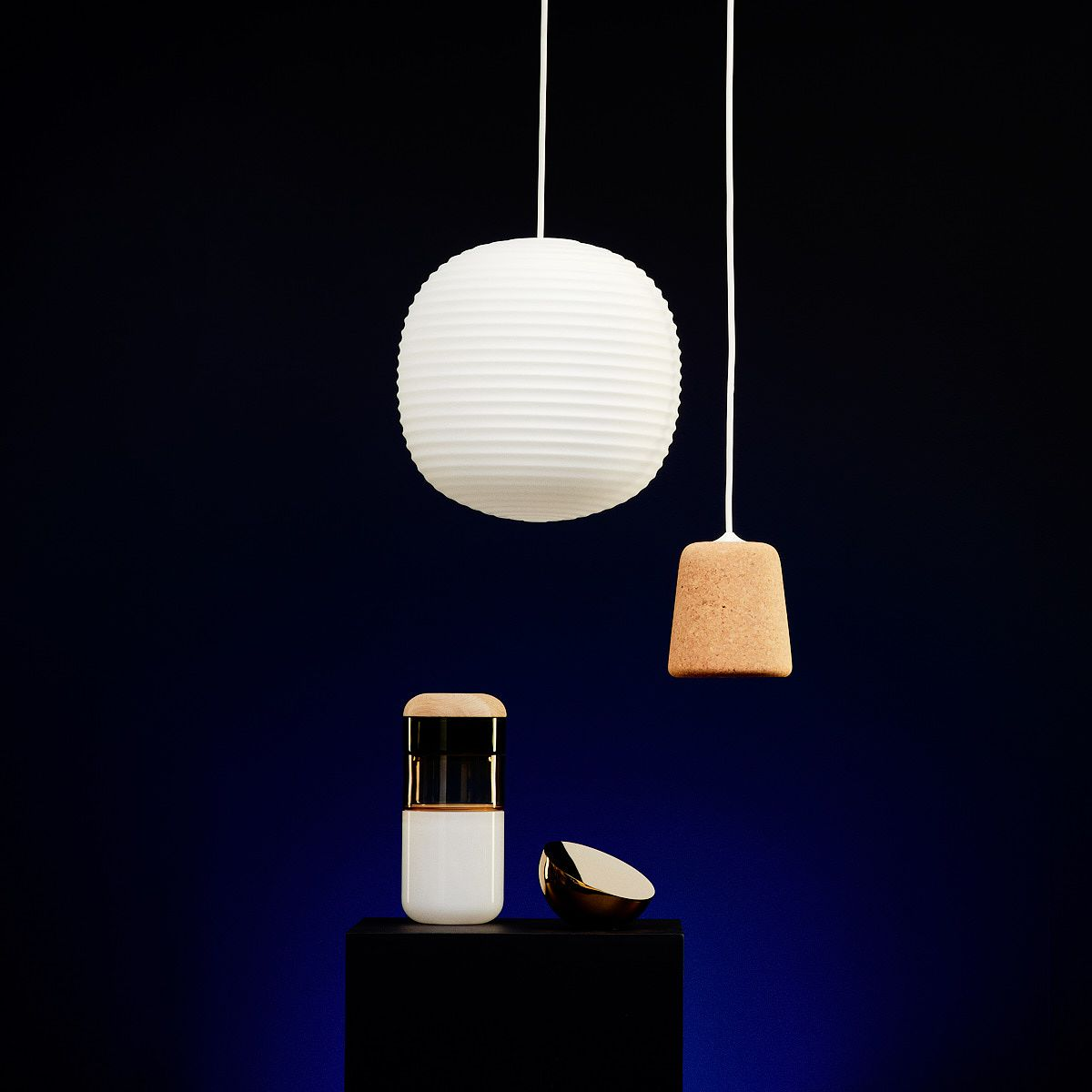 New Works: Lantern pendant light