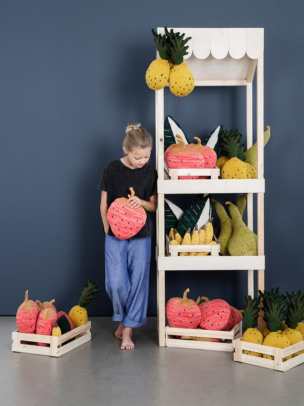 Ferm Living Fruiticana cushions