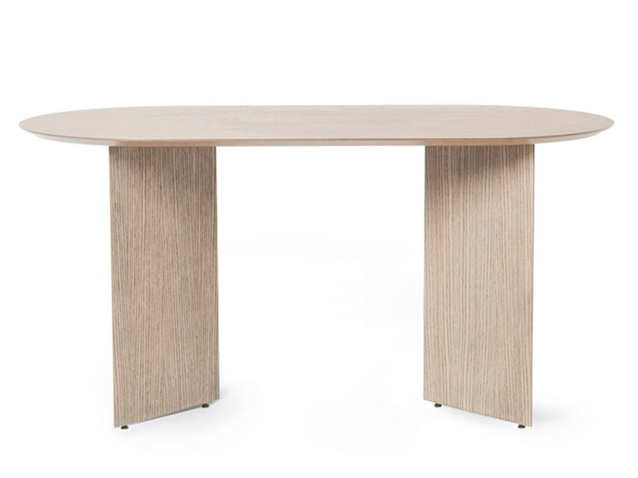 Ferm Living Mingle table, oval, 150 cm, natural oak