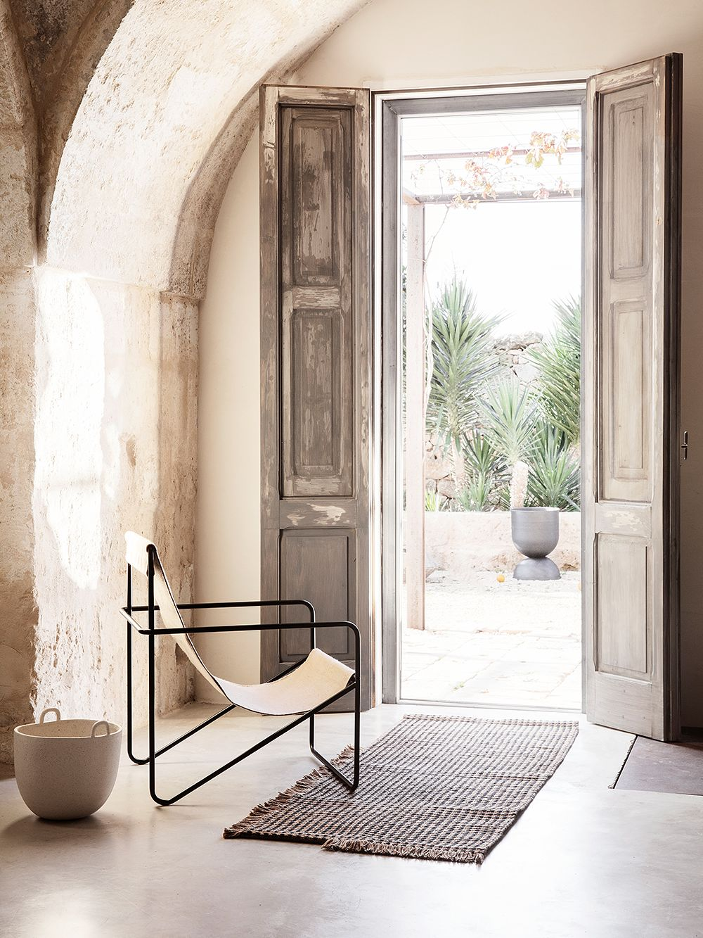 Desert lounge chair by Ferm Living