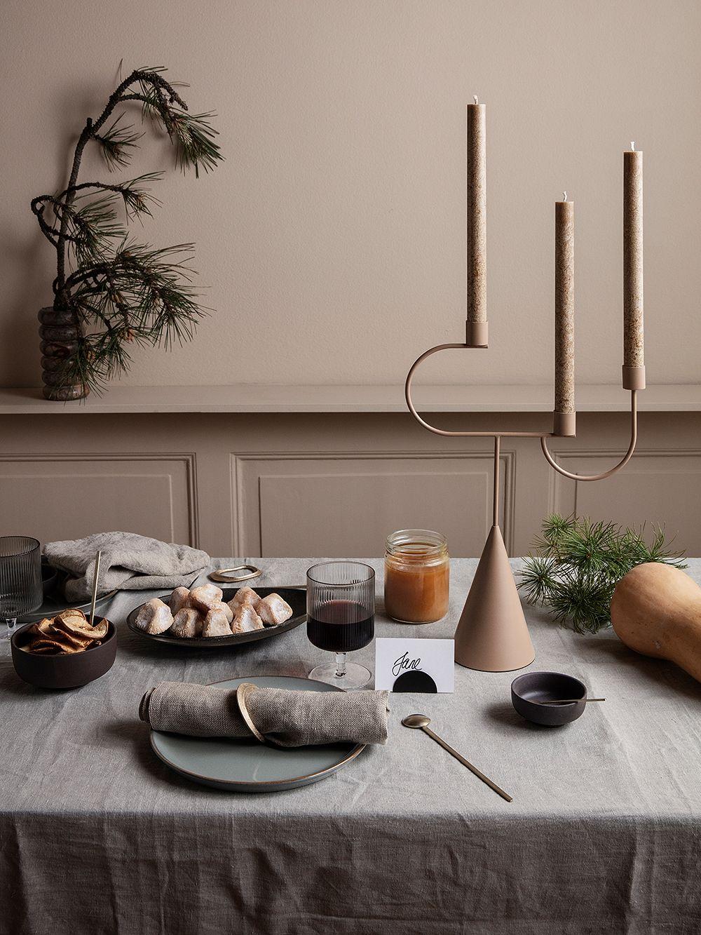Ferm Living Avant candelabra