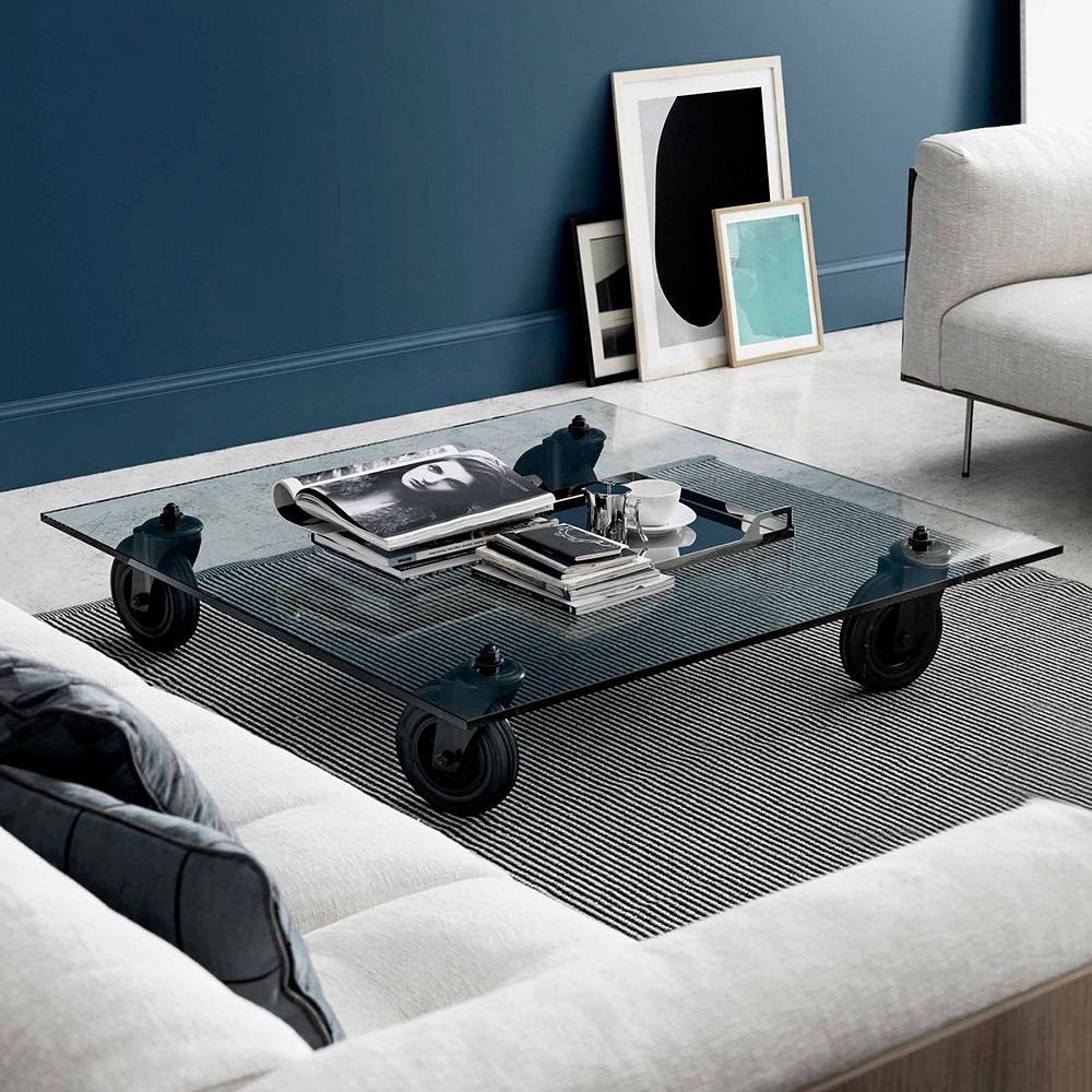 FontanaArte's Tavolo Con Ruote coffee table
