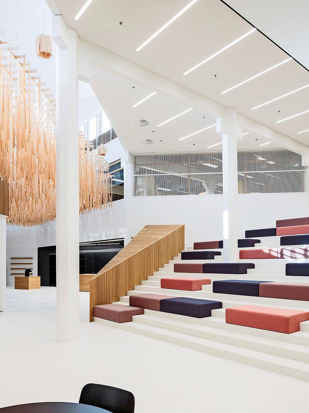 Fyyri Library in Kirkkonummi, Finland