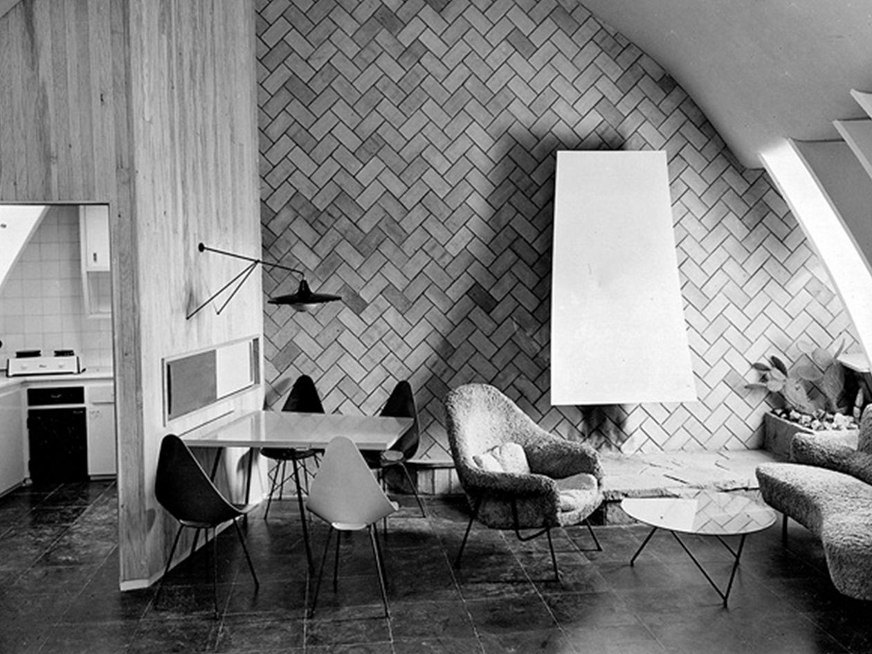 Casa Milà attic apartment