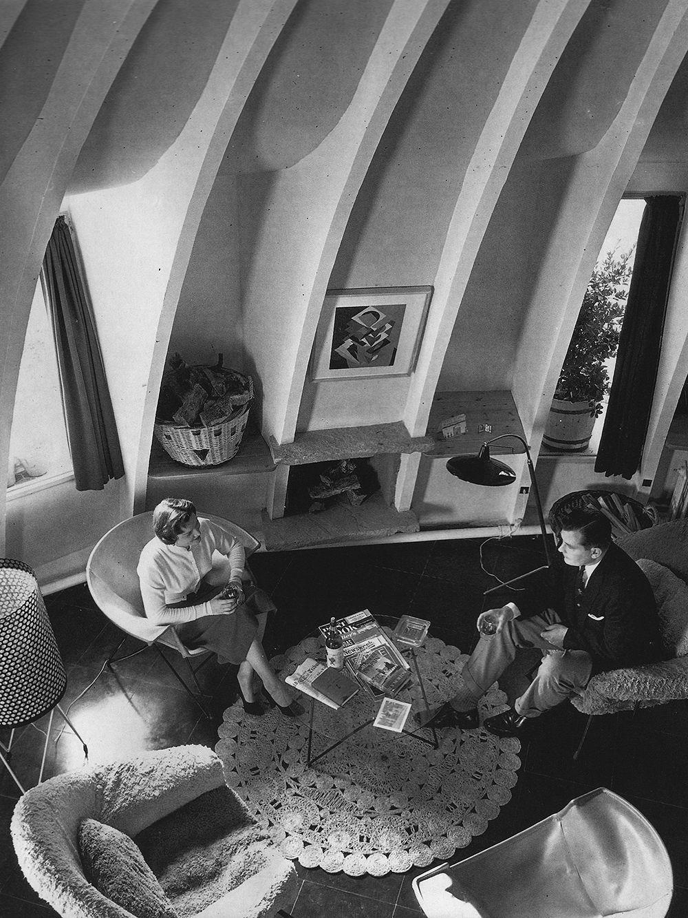 Casa Milà attic