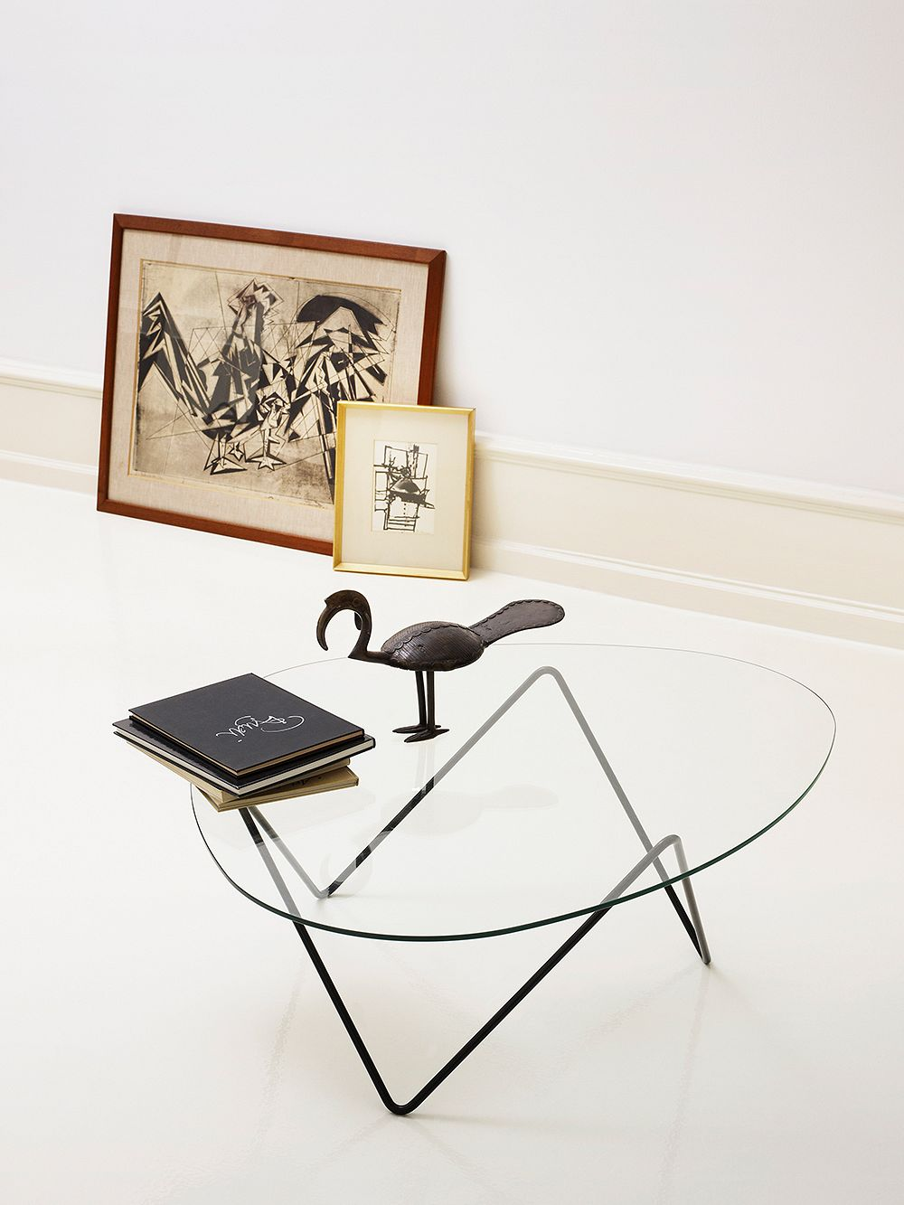 Gubi Pedrera coffee table, black