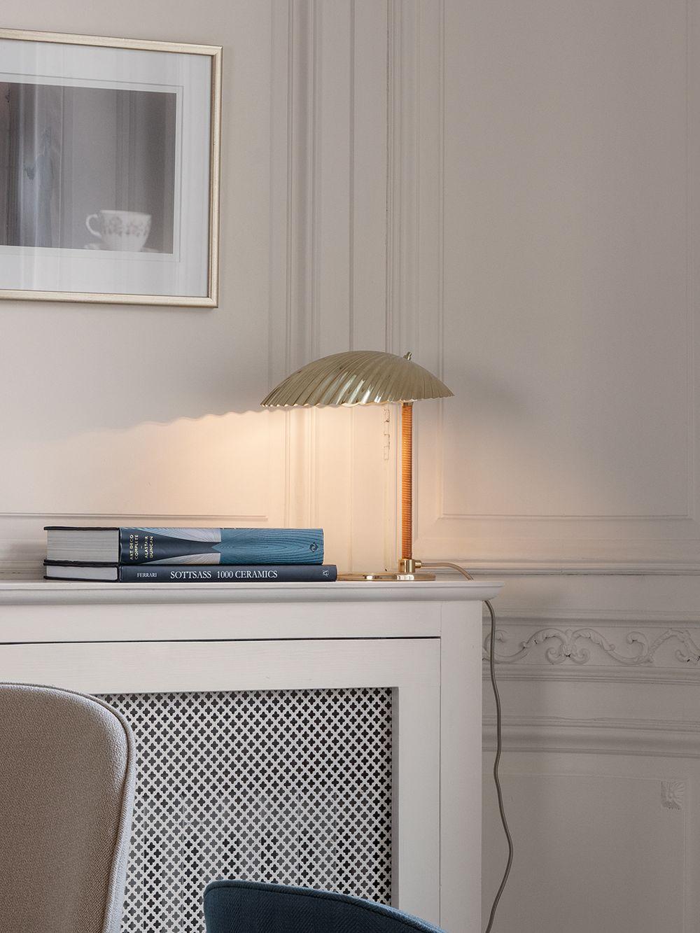 Gubi's Tynell 5321 table lamp in living room decor.