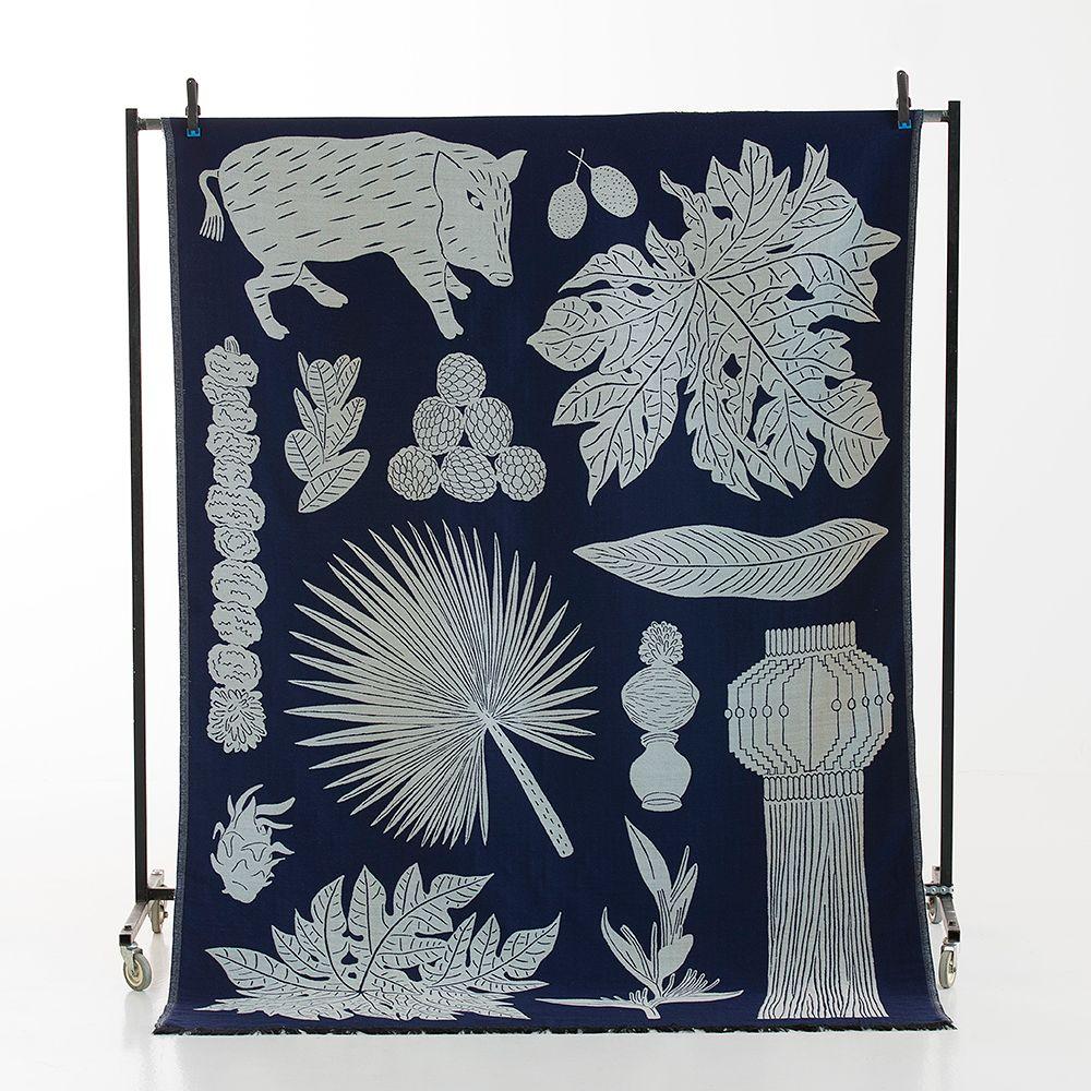 Matka blanket by Tong Ren