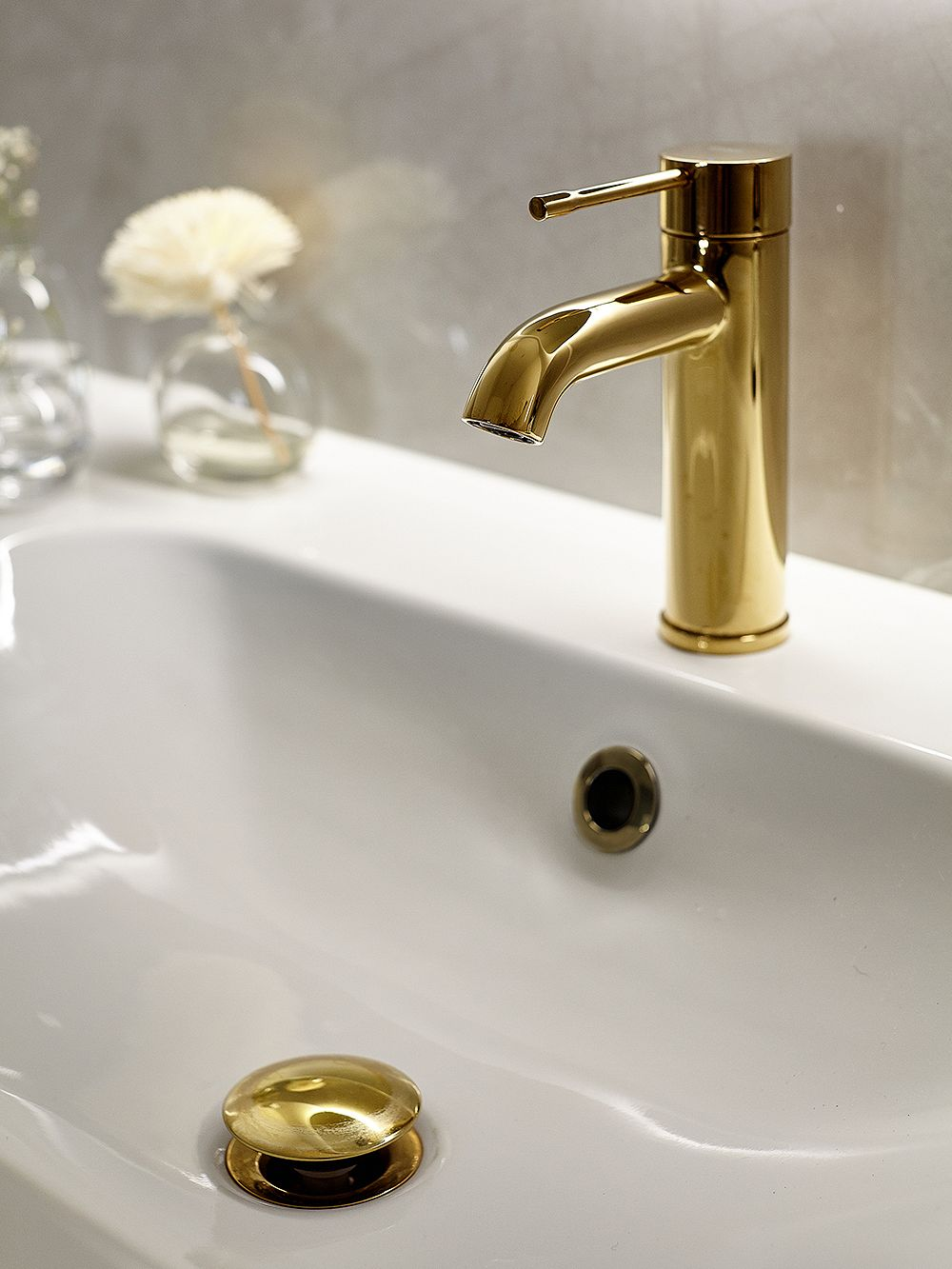 Brass faucet by Grohe
