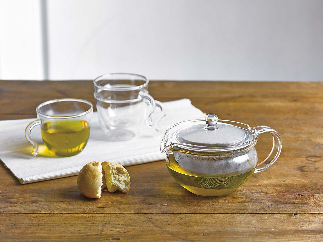 Hario ChaCha Kyusu Maru teapot