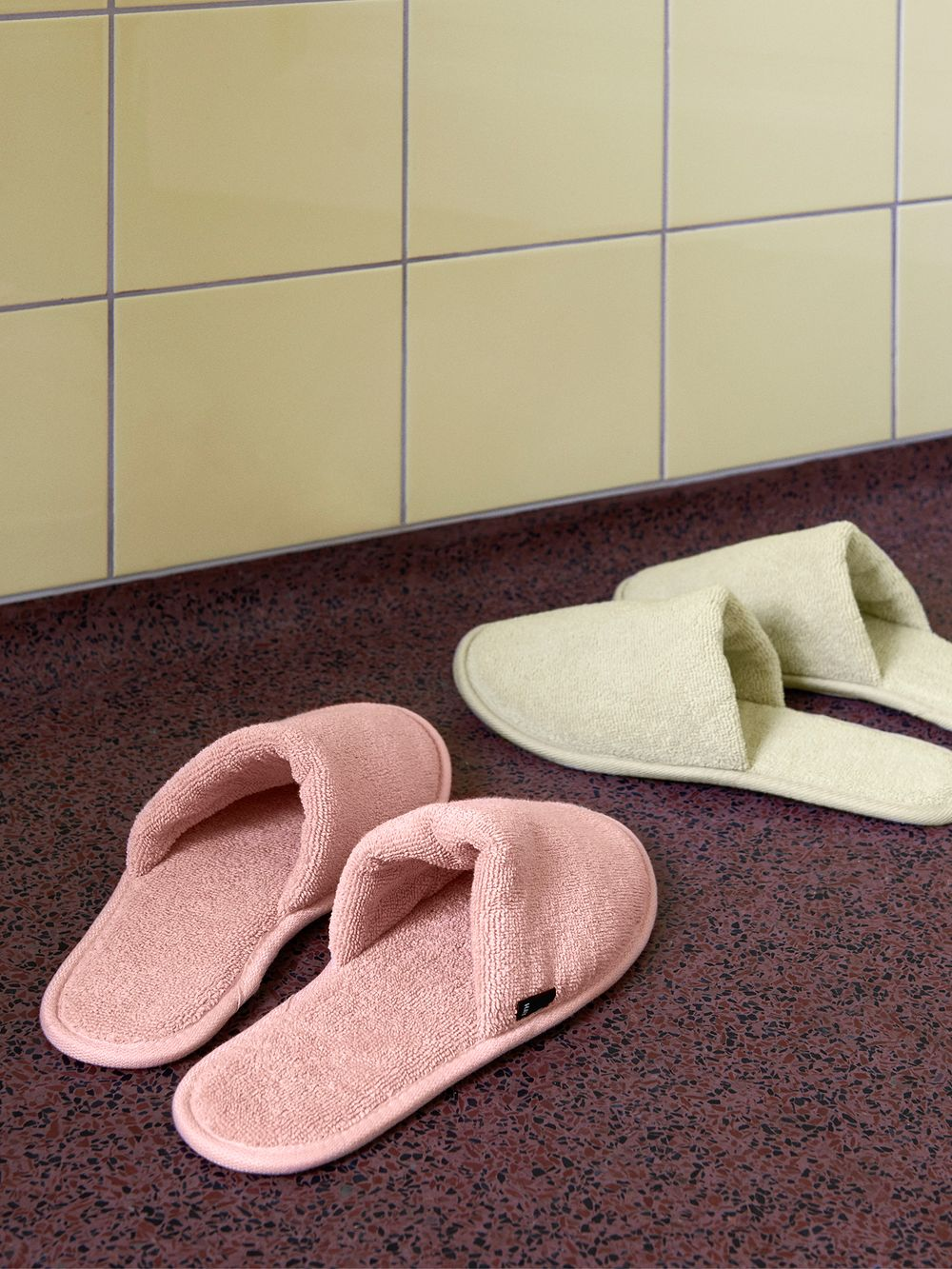 Hay Frotte slippers