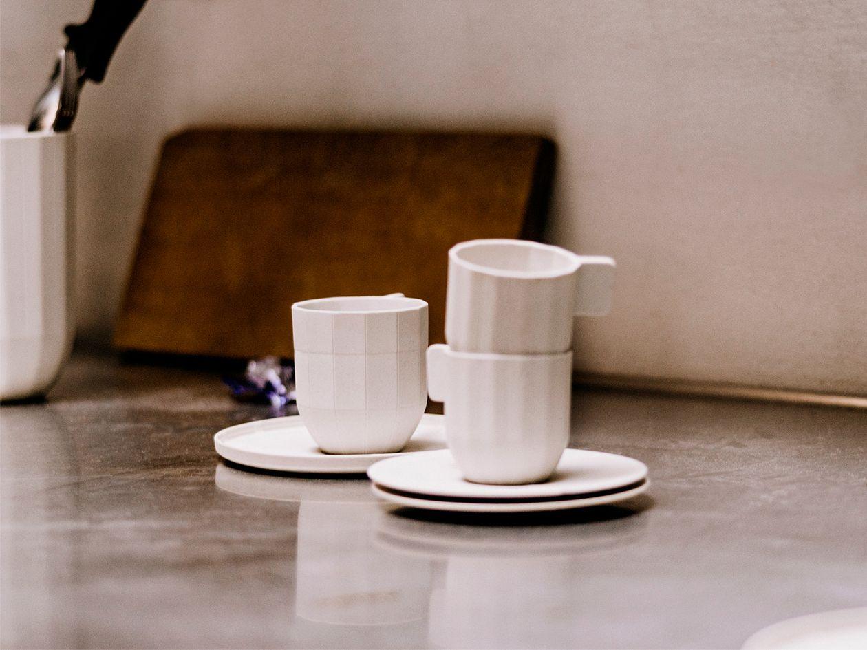 Hay Paper Porcelain espresso cups