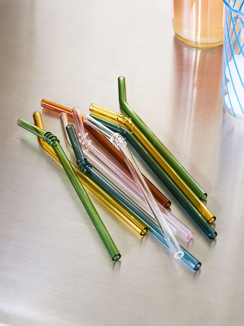 Hay Sip glass straws