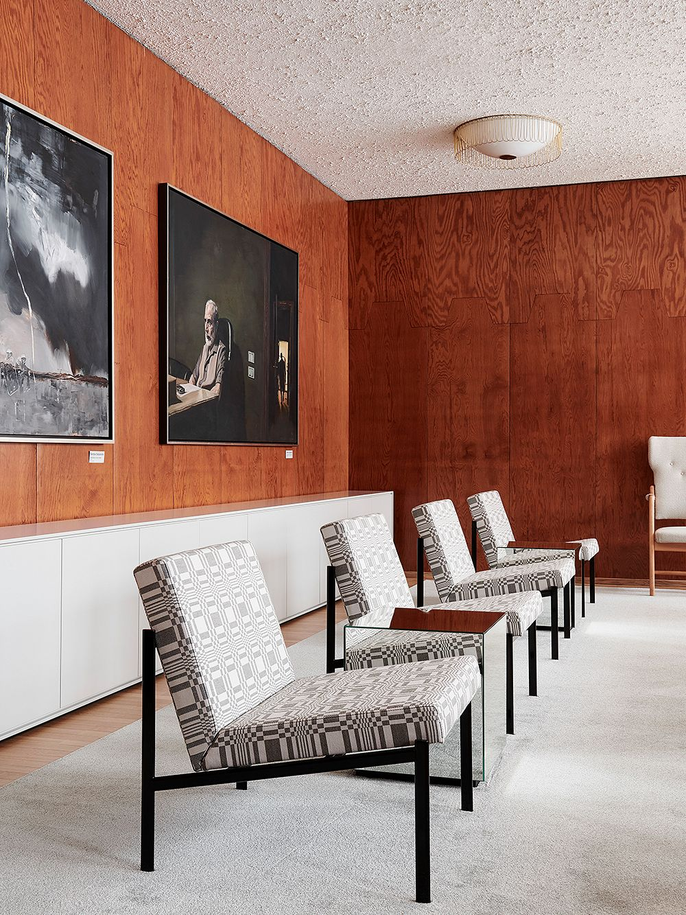 Artek Kiki lounge chair, grey