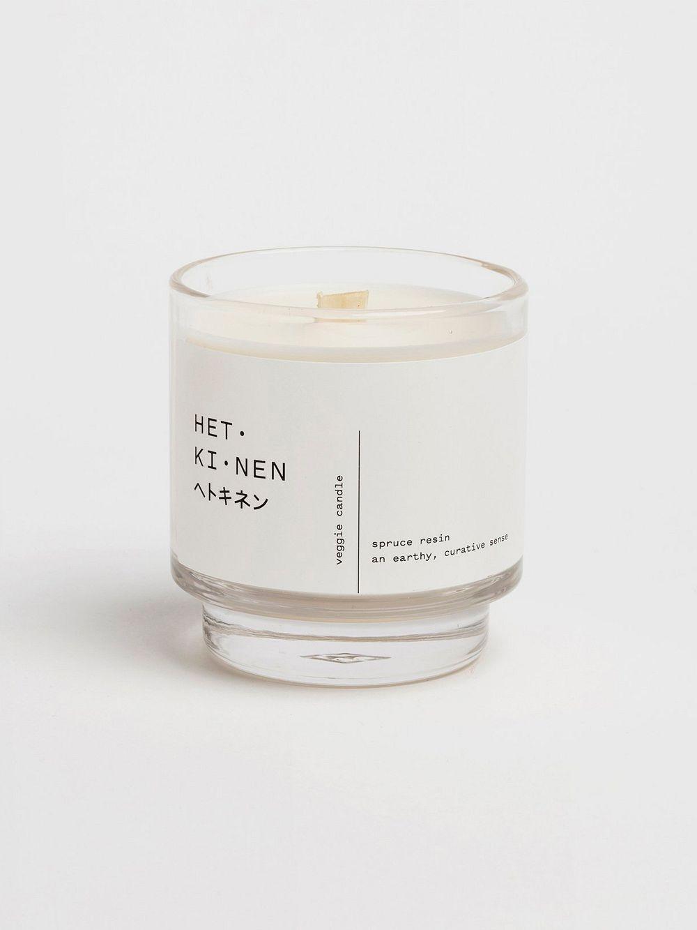 Hetkinen Veggie wax candle