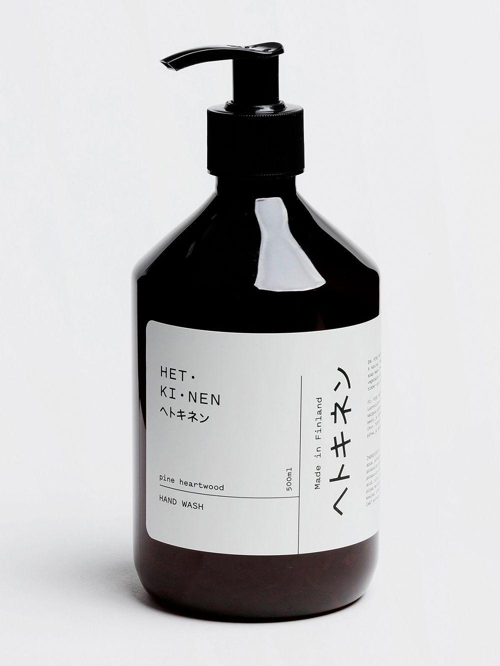 Hetkinen Hand wash, 500 ml, pine heartwood