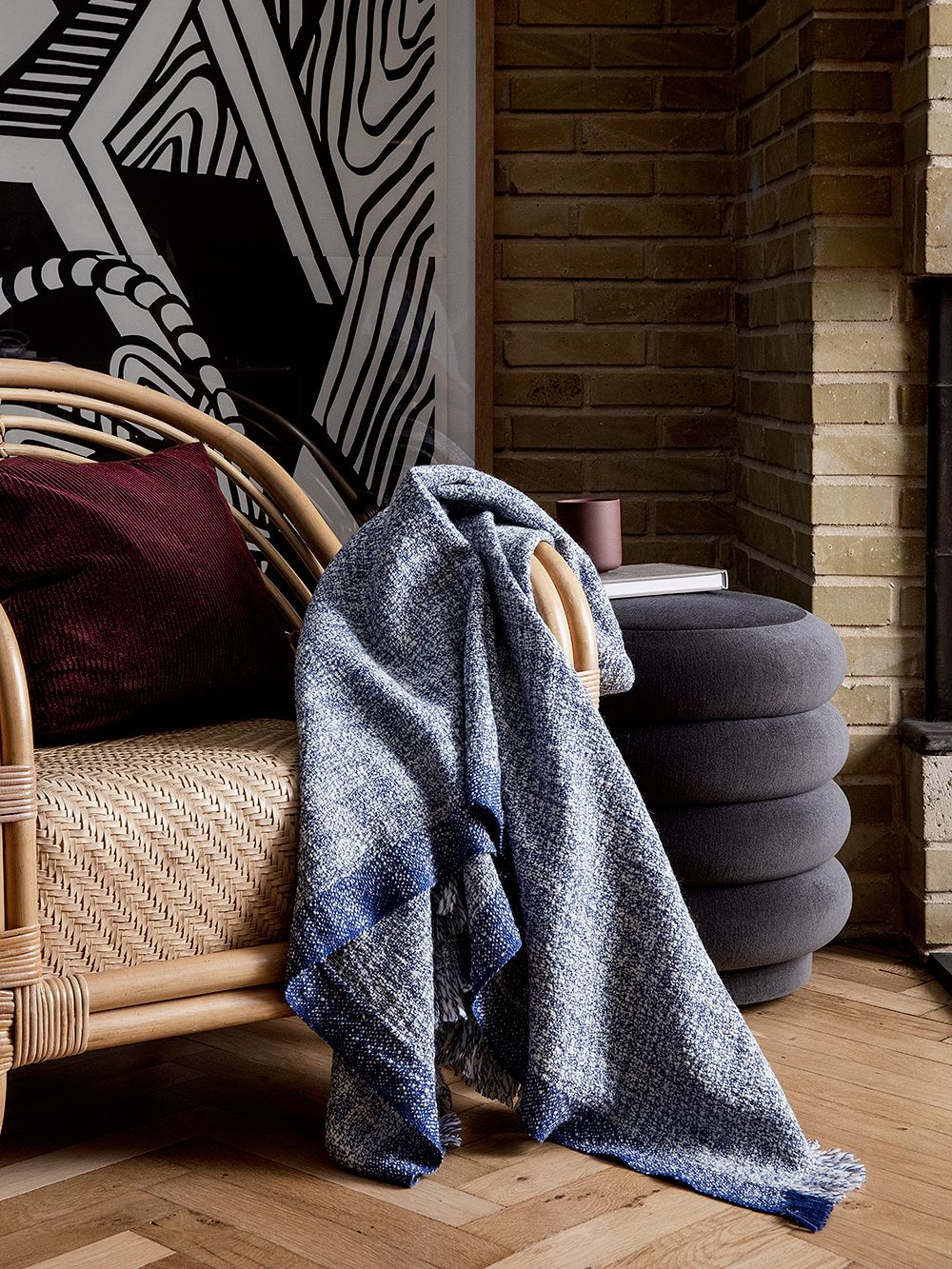 Ferm Living Enfold throw