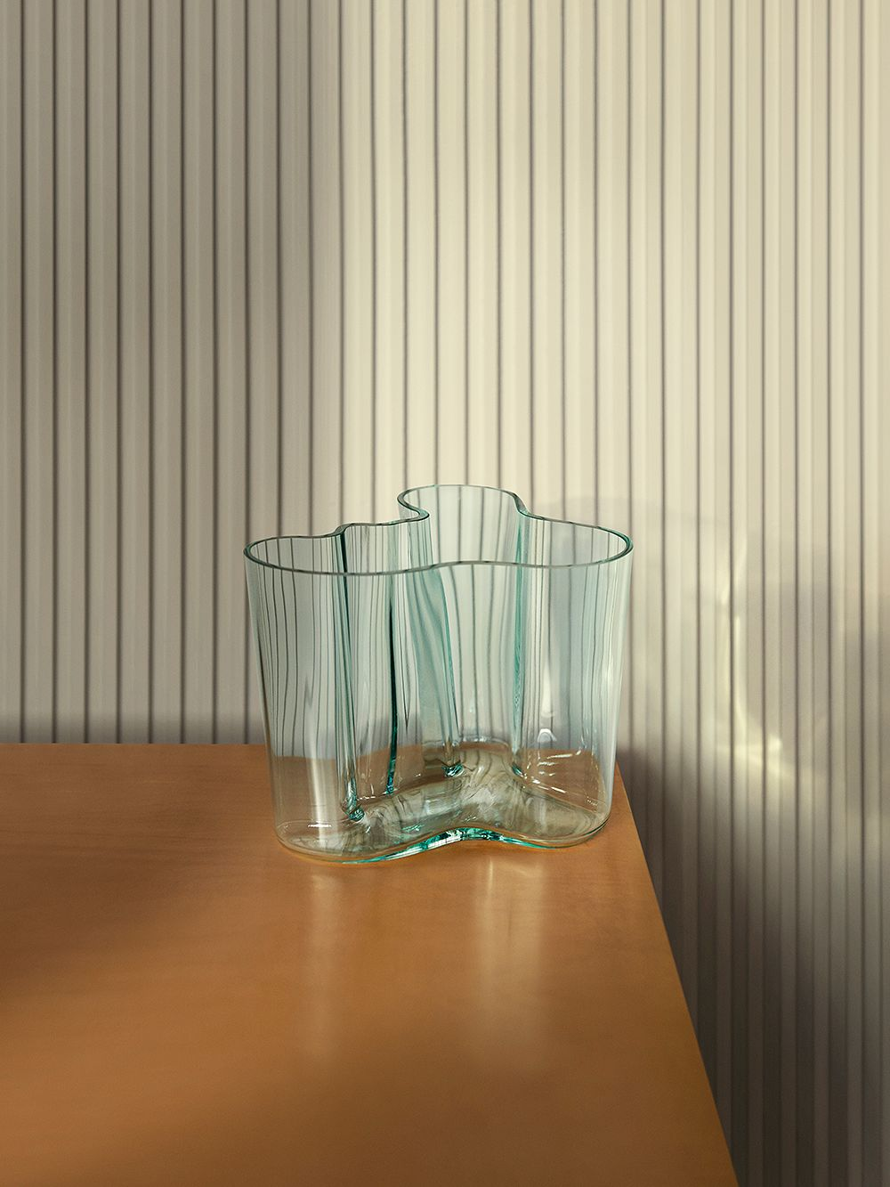 Recycled glass Aalto vase by Iittala