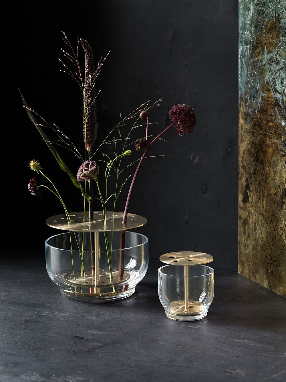 Fritz Hansen's Ikebana vases